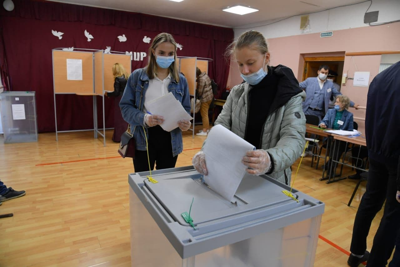 В Омской области начался второй день голосования #Омск #Общество #Сегодня