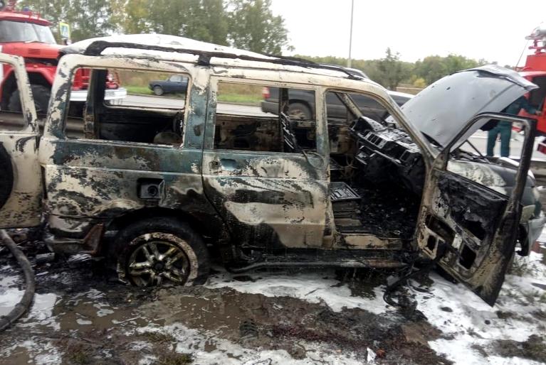 В Омской области с начала года сгорели более 200 машин #Омск #Общество #Сегодня