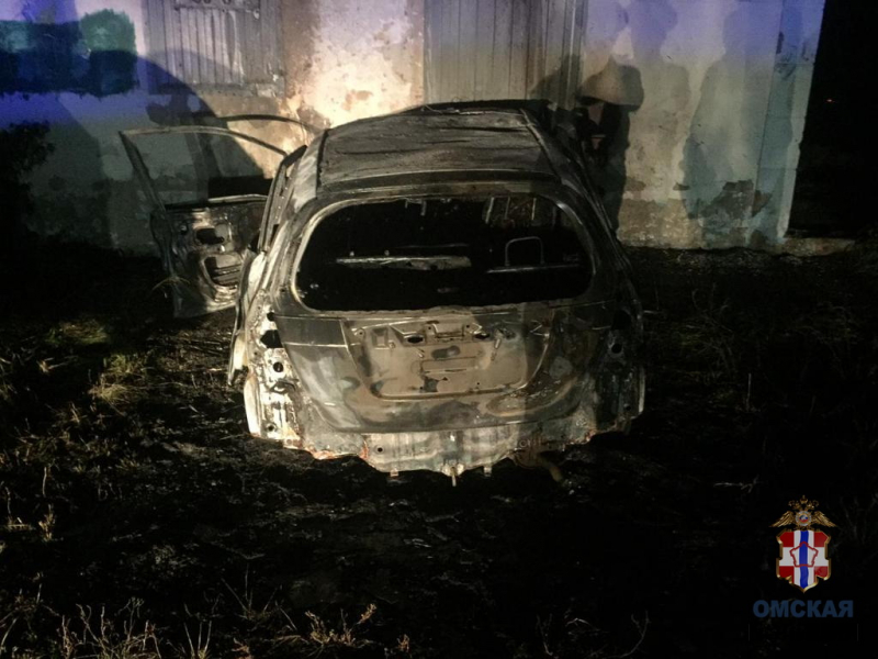 На трассе под Омском водитель «хонды» протаранил бетонное здание и погиб #Новости #Общество #Омск
