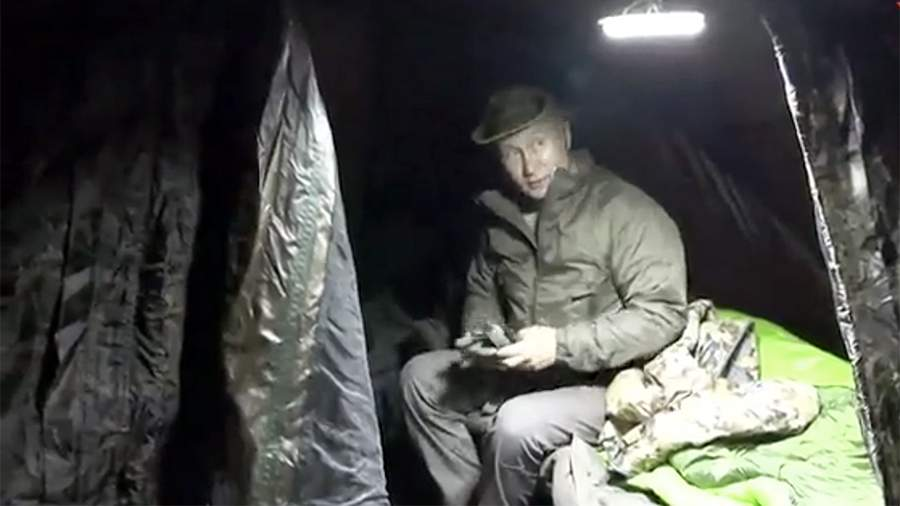 Во время отдыха в Сибири машину Путина чуть не сбило стадо маралов #Омск #Общество #Сегодня