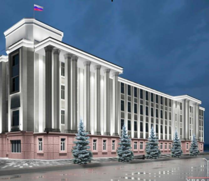 Из-за реконструкции здания омской ФСБ срубят 15 лиственниц, которые заменят елями #Новости #Общество #Омск