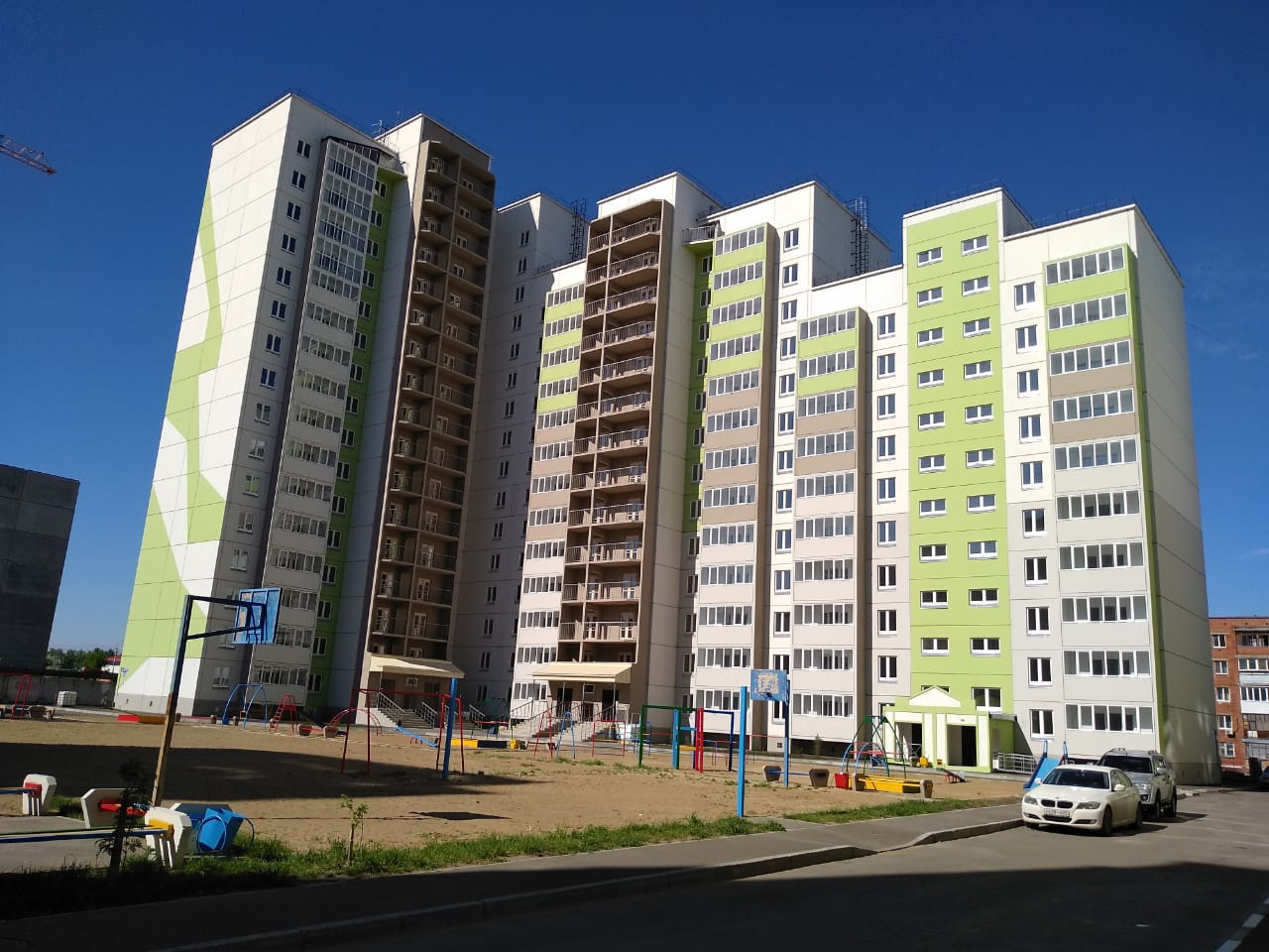 В «Амуре» построят еще одну многоэтажку #Новости #Общество #Омск