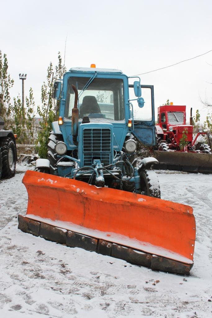 Скоро зима: в Омской области начали воровать снегоуборочную технику #Омск #Общество #Сегодня