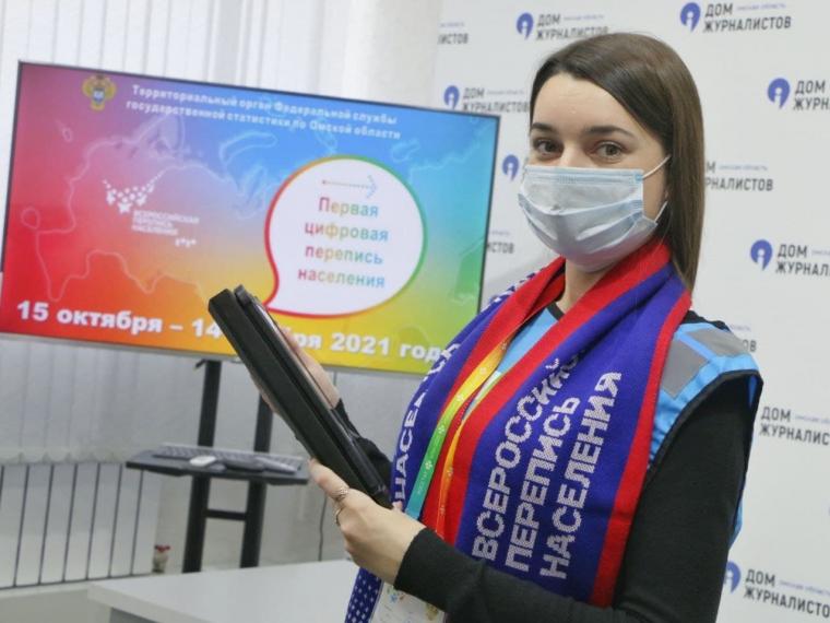 Омичи смогут поучаствовать в переписи населения онлайн #Омск #Общество #Сегодня