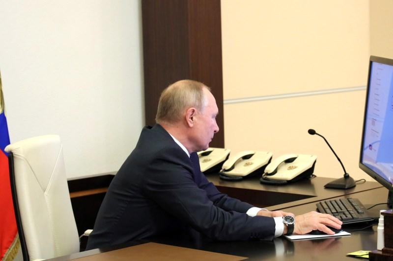 Путин принял участие в переписи онлайн #Омск #Общество #Сегодня