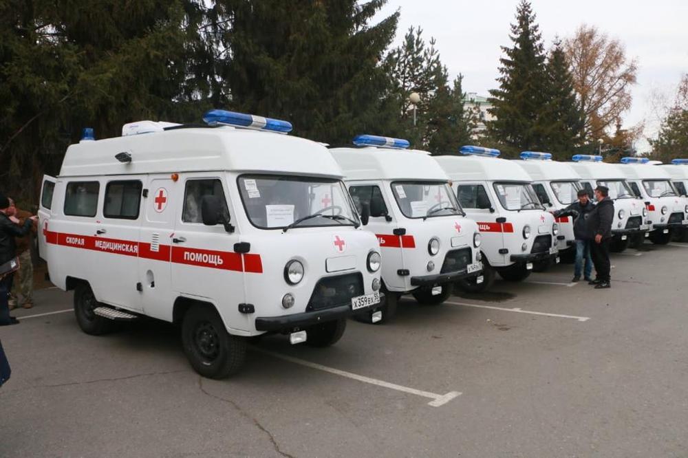 В омские больницы направили 30 новых автомобилей скорой помощи #Омск #Общество #Сегодня