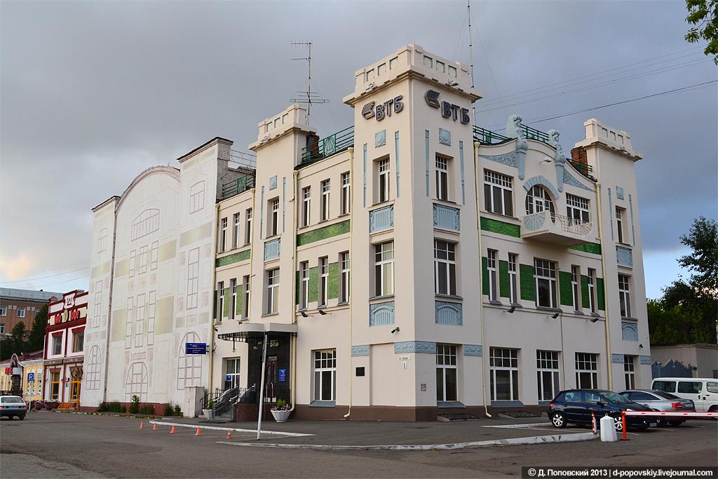 Дом Эльворти в Омске - фото и описание