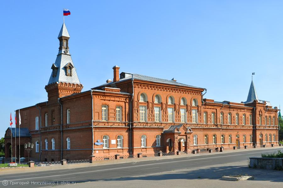 Здание Городской Думы и управы (Омск)