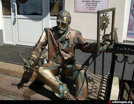 Памятник Ван Гогу (Омск)