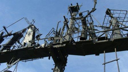 Скульптура «Динамическое равновесие» (Омск)