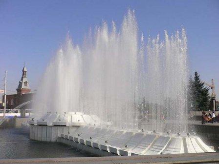 Светомузыкальный фонтан (Омск)
