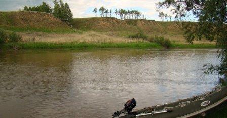 Устье реки Омь (Омск)