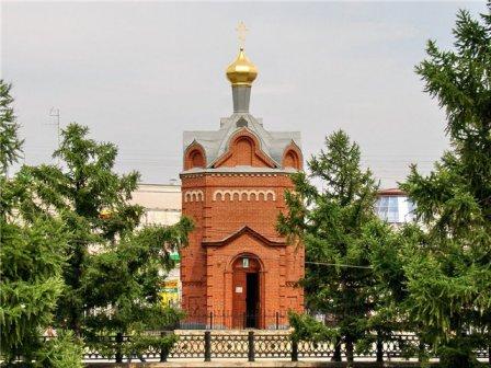 Часовня Иверской иконы Божией Матери (Омск)