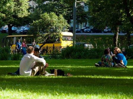 Первые 10 дней мая в Омске оказались самыми теплыми за последние 14 лет.