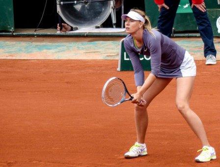 Шарапову освистали болельщики на «Roland-Garros»