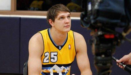 Российский баскетболист «штурмом» берет очки в НБА.