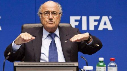 Блаттер снова переизбран главой FIFA.