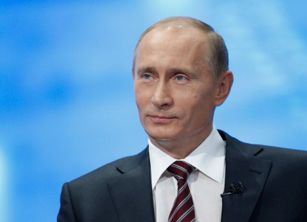 Жители Омской области получили поздравление от президента.