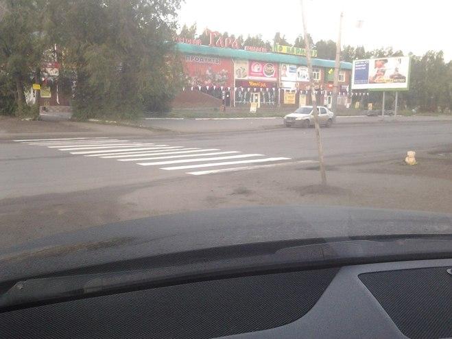 На улице Гашека появилась «зебра» после ДТП