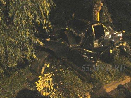 Авария в Омске на улице Красный путь.