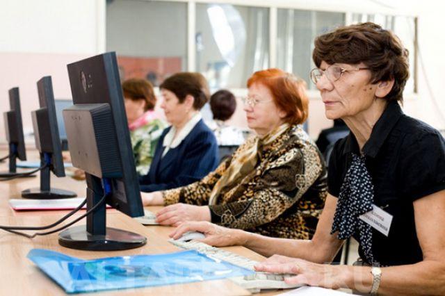 В Омске пенсионеры начали поступать в университеты