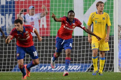 ЦСКА впервые стартовал в чемпионате России по футболу с шести побед