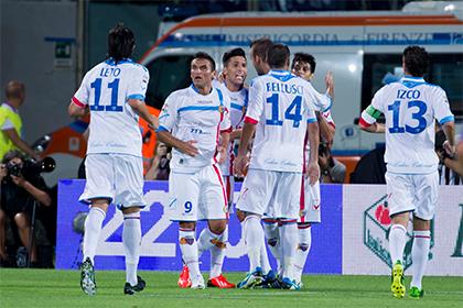 Итальянский клуб отправили в низший дивизион за договорные матчи