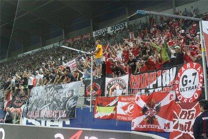 Фанат «Спартака» попал в реанимацию после матча с «Амкаром»