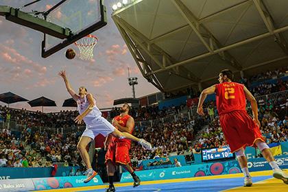 Российских баскетболистов оставили без премиальных за Европейские игры