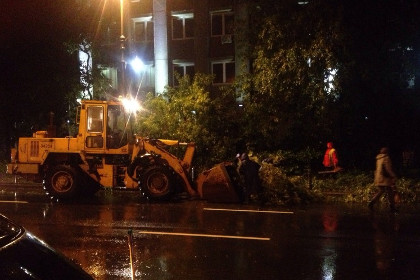 Владивосток избежал серьезных последствий удара тайфуна