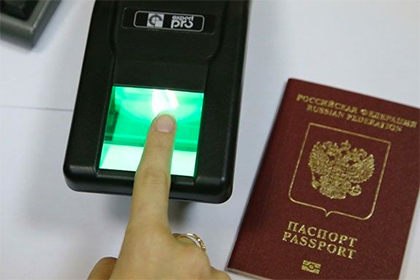 Жители России не сумеют получить шенген без отпечатков пальцев