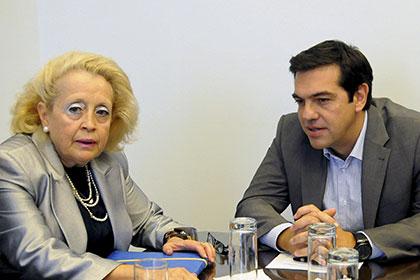 Вконце рабочей недели впервый раз вистории Греции женщина вполне может стать премьер-министром