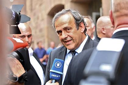 Платини отказался снова бороться за пост президента УЕФА