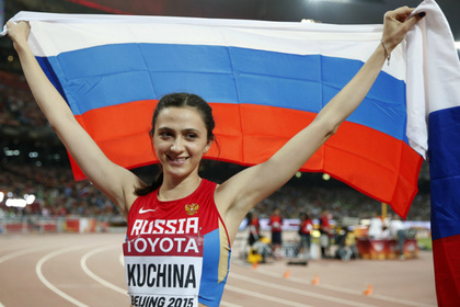 Российская прыгунья завоевала золотую медаль ЧМ в Пекине