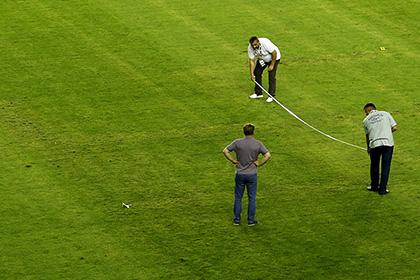 Хорваты оспорили решение УЕФА наказать сборную за вытоптанную на поле свастику