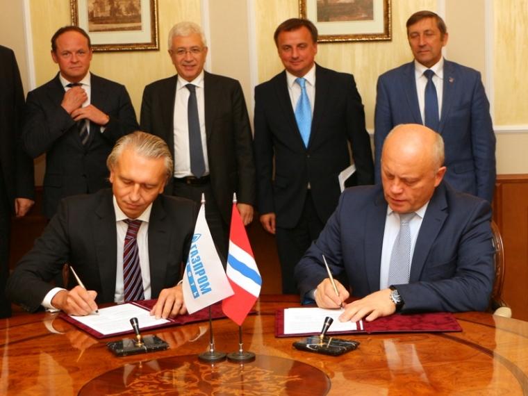 Правительство Омской области и «Газпром нефть» подписали соглашение о строительстве завода катализаторов