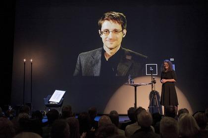 Сноуден получил норвежскую премию за критику методов спецслужб