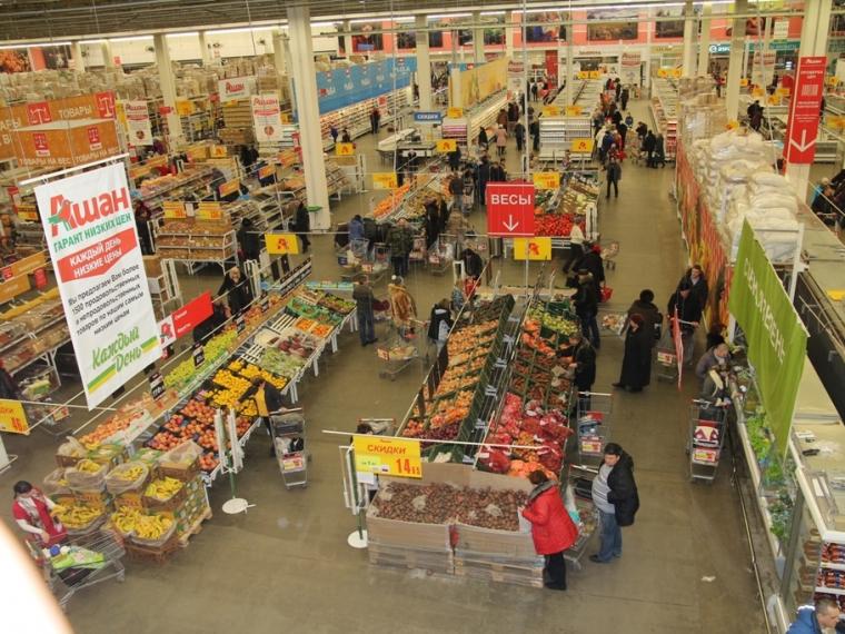 В августе в Омской области подешевели продукты