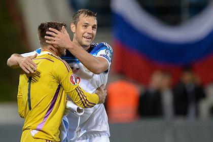 Дзюба извинился перед вратарем сборной Лихтенштейна