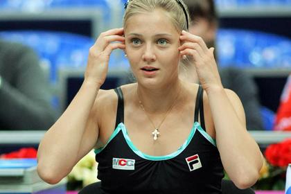 Российская теннисистка Чакветадзе сообщила об угрозах от болельщика