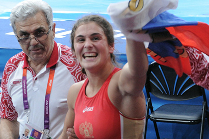 Россиянка Наталья Воробьева выиграла чемпионат мира по борьбе