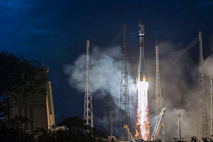 Запущена ракета Союз-СТ-Б со спутниками европейской навигационной системы