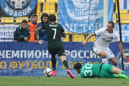 «Краснодар» обыграл «Динамо» со счетом 4:0