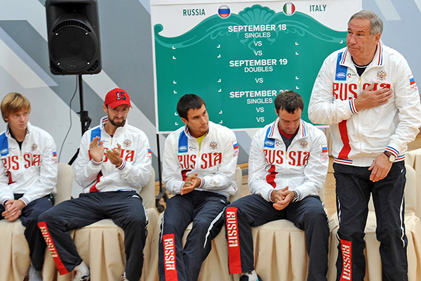 Почему российские теннисисты не смогли отобраться в элитную группу Кубка Дэвиса: Теннис: