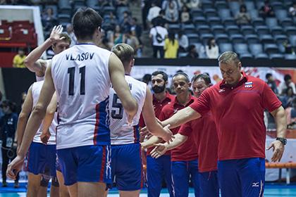 Российские волейболисты упустили последнюю в этом году возможность попасть на ОИ