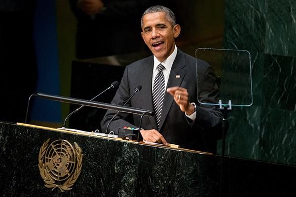 Выступление Б. Обамы на 70-ой ассамблее ООН
