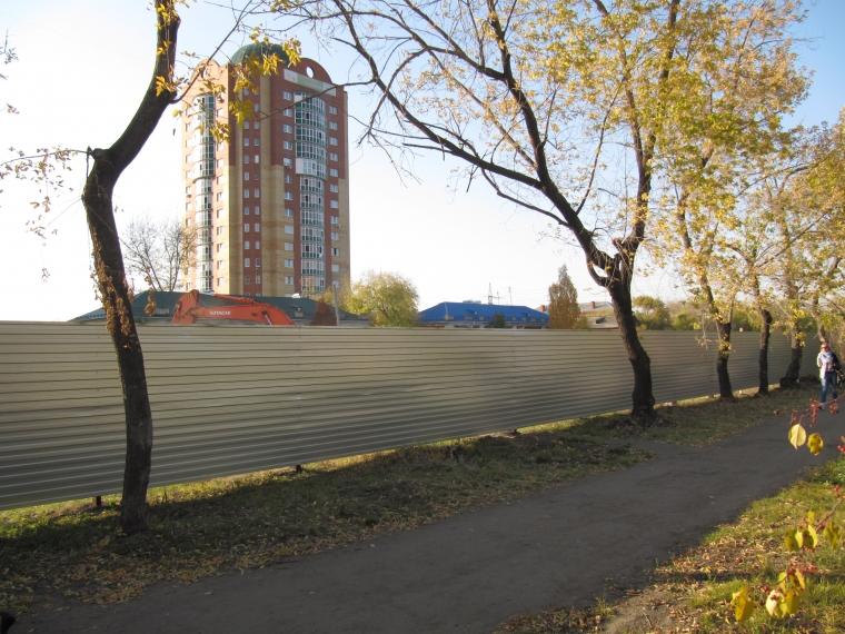 В Омске продолжают строить дома с привлечением пайщиков
