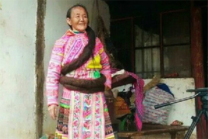 Китаянка отрастила косу длинной 2,5 метра