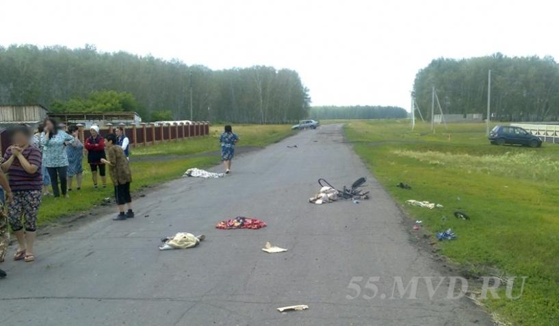 Пьяный водитель получил 7 лет колонии за гибель женщины и младенца в Омской области