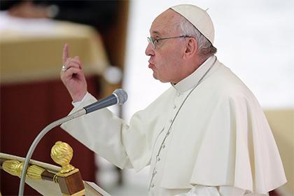 Ватикан опроверг информацию о наличии опухоли мозга у Папы Римского